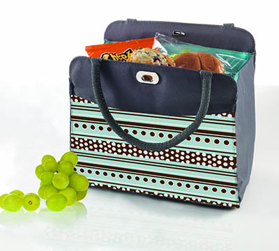 1046 Cobblestone Insulated Lunch Tote