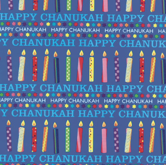 116 - Happy Chanukah Wrap