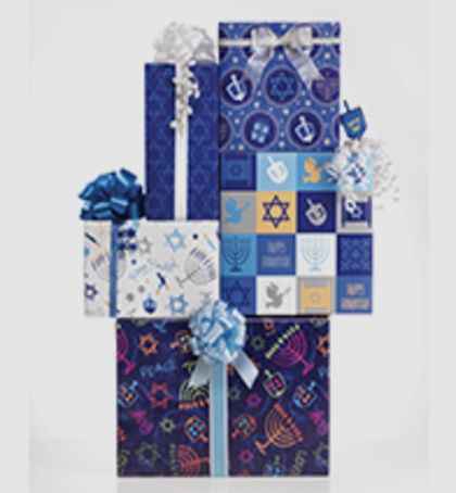160 - Chanukah Wrap Set