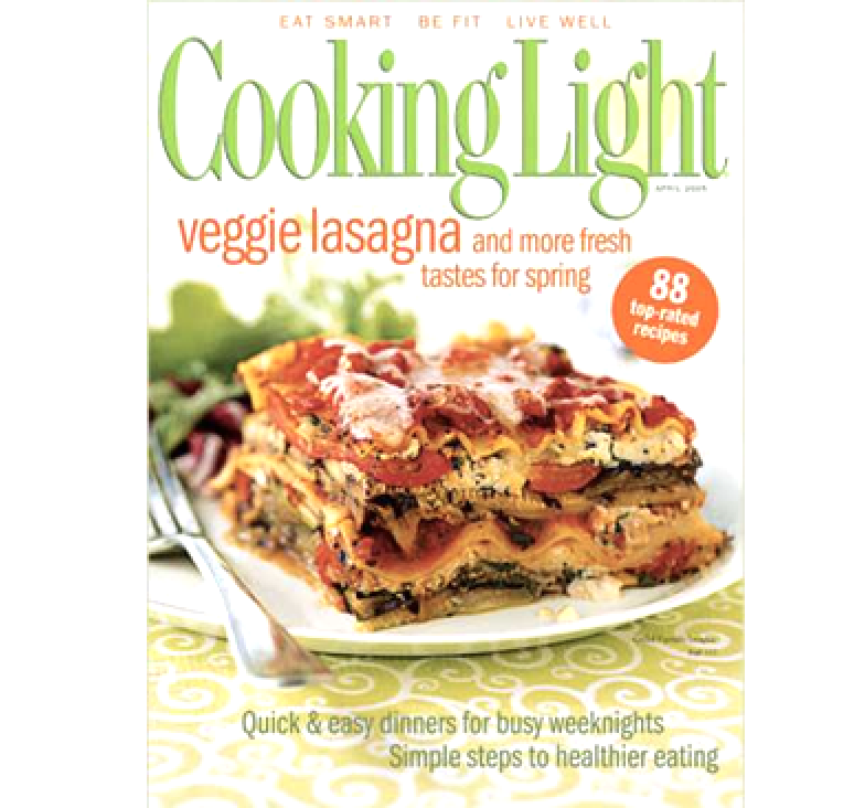 8510 Cooking Light Magazine Subscription Voucher