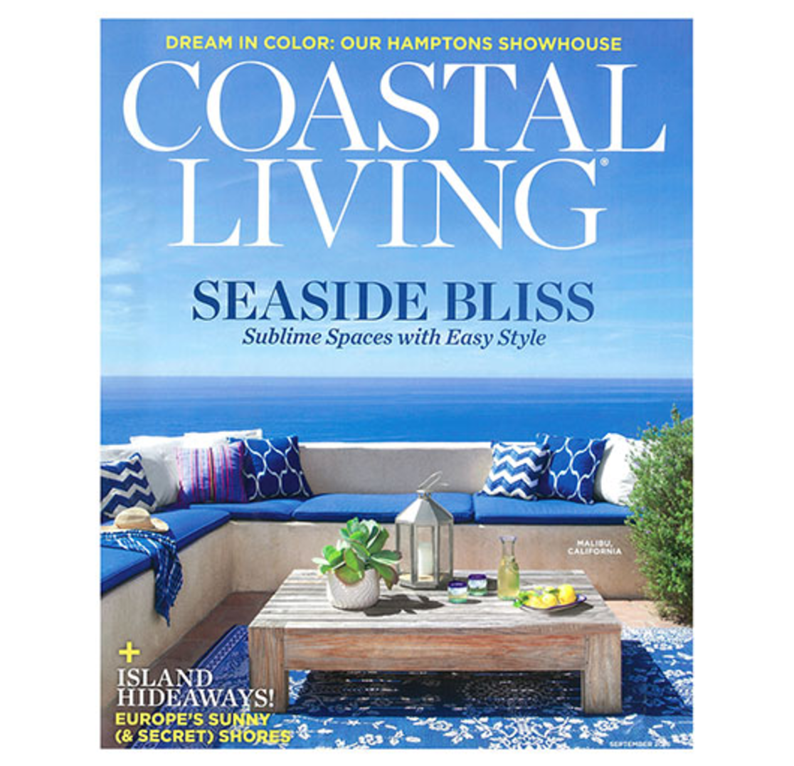 8510 Coastal Living Magazine Subscription Voucher